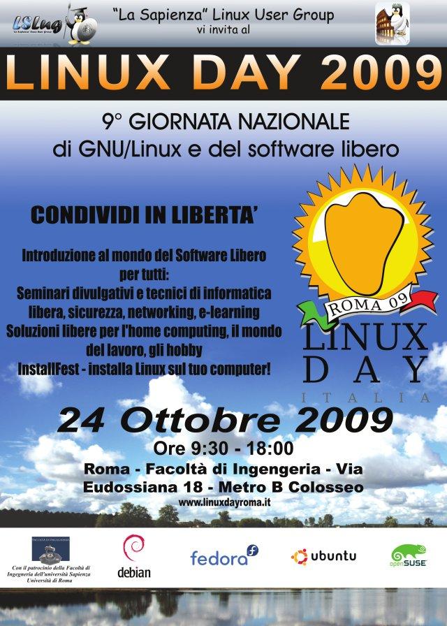 locandinalinuxday2009
